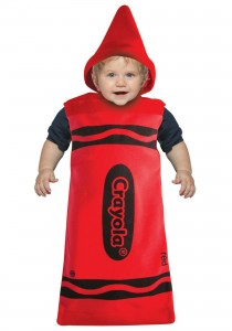 Crayon Costumes for Kids