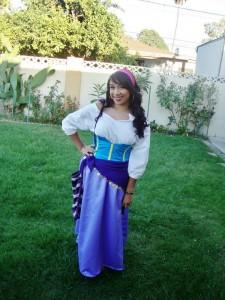 Esmeralda Disney Costume