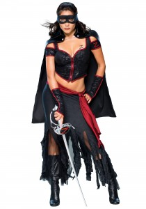 Female Zorro Costume