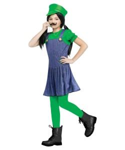 Girl Luigi Costume