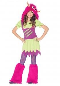 Girl Monster Costume