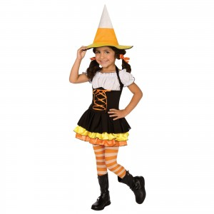 Girls Candy Corn Costume