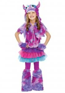 Girls Monster Costume