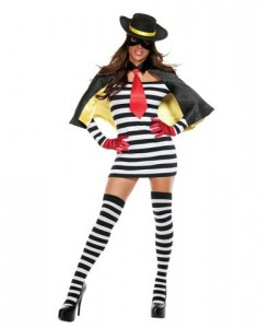 Hamburglar Costume Women