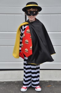 Hamburglar Costume for Kids