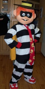 Hamburglar Costume