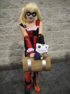 Harley Quinn Costume Kids