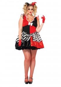 Harley Quinn Costume Plus Size