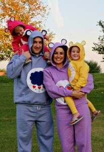 Homemade Care Bear Costume