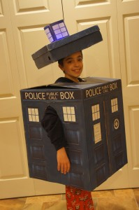 Homemade Tardis Costume