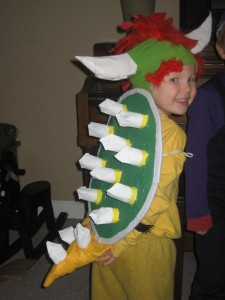 Kids Bowser Costume