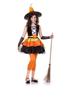 Kids Candy Corn Costume