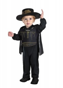 Kids Zorro Costume