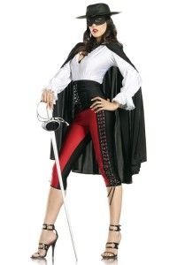 Lady Zorro Costume