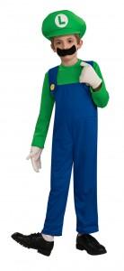 Luigi Costume Kids