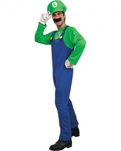 Luigi Costume Men