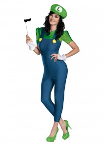 Luigi Costume for Women