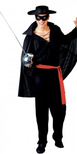 Mens Zorro Costume