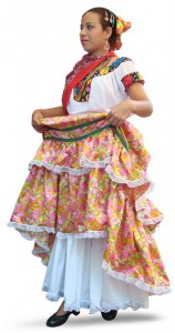 Mexican Woman Costume