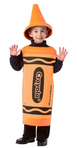 Orange Crayon Costume