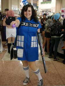 Plus Size Tardis Costume