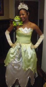 Princess Tiana Costume Pattern