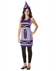 Purple Crayon Costume