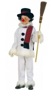 Snowman Costume Kids