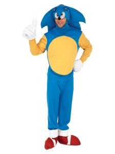 Sonic the Hedgehog Costume for Men