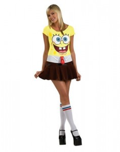 Spongebob Costume for Girls