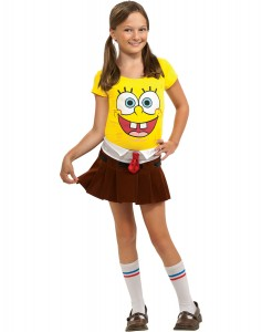 Spongebob Costumes for Girls