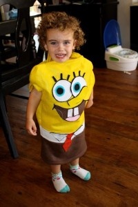 Spongebob Toddler Costume
