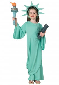 Statue of Liberty Costume Kids