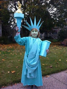 Statue of Liberty Costumes for Kids
