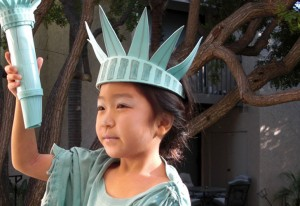 Statue of Liberty Crown Costume