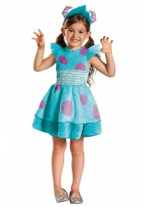 Sulley Costume for Girls