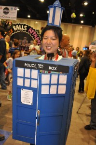 Tardis Costume for Women