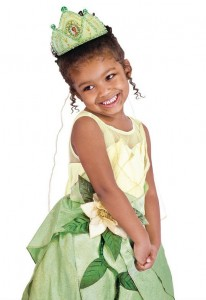 Tiana Princess Costume