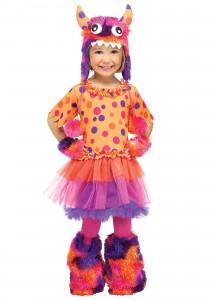 Toddler Girl Monster Costume