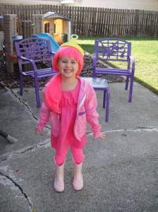 Toddler Princess Bubblegum Costume