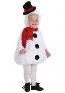Toddler Snowman Costume