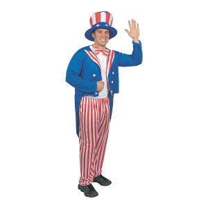 Uncle Sam Costume Pattern