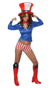 Uncle Sam Costume for Women