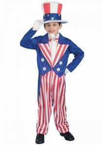 Uncle Sam Costume for kids