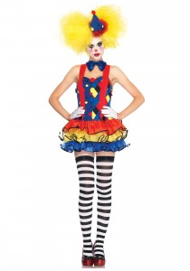 Womens Clown Costume