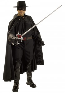 Zorro Costume for Men