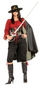 Zorro Costume for Women