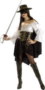 Zorro Costumes for Women