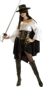 Zorro Costumes for Women