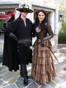 Zorro Couple Costume
